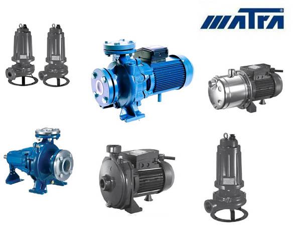 Máy bơm nước Matra                                                                                                        <p><strong>Máy bơm nước Matra</strong></p>  <p>Máy bơm nước Matra ra đời năm 1959 tại Ý với trụ sở đặt tại Nonantola nhưng nhà máy lại đặt tại Modena. Với dây chuyền công nghệ tiên tiến, các sản phẩm máy bơm nước của Matra đã nhận được chứng chỉ về hệ thống chất lượng UNI, EN, ISO. Tất cả các dòng sản phẩm của Matra đều đạt tiêu chuẩn quốc tế về hiệu quả hoạt động, tiết kiệm điện năng, hoạt động bền bỉ</p>  <p><strong>Các sản phẩm máy bơm nước Matra thông dụng hiện nay</strong></p>  <p>Máy bơm trục ngang Matra: là dòng bơm ly tâm đơn tầng cánh được ứng dụng trong cấp nước sinh hoạt, bơm phòng cháy chữa cháy – cứu hỏa với dải công suất từ 1.5 -37kw.</p>  <p>Máy bơm tăng áp Matra: là dòng bơm ly tâm trục đứng đa tầng cánh được ứng dụng rộng rãi trong các hệ tăng áp, dùng để bù áp cho máy bơm nước, hoặc để cấp nước sạch cho những yêu cầu về độ đẩy cao</p>  <p>Máy bơm hỏa tiễn Matra: là dòng máy bơm chìm 3 pha hoặc 1 pha toàn thân bằng inox, đường kính 3inch đến 8 inch phù hợp với mọi loại giếng khoan.</p>  <p>Máy bơm nước Matracó những ưu điểm và tính năm vượt trội so với những sản phẩm khác bởi là sản phẩm có đường đặc tính dài và rộng giúp người sử dụng có thể lựa chọn nhiều loạimáy bơm mà không bị thừa công suất, điện năm tiêu thụ và giá thành sản phẩm không bị cao lên.</p>                         </div>                                                       <div class=
