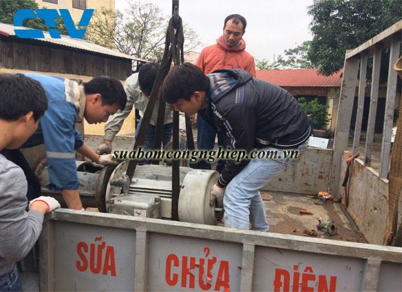 Trung tâm sửa chữa máy bơm nước, máy công nghiệp uy tín tại Hà Nội