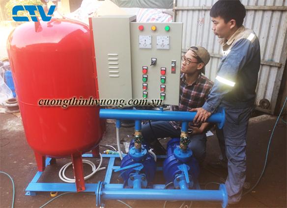 Kinh nghiệm lắp đặt hệ thống máy bơm tăng áp tối ưu