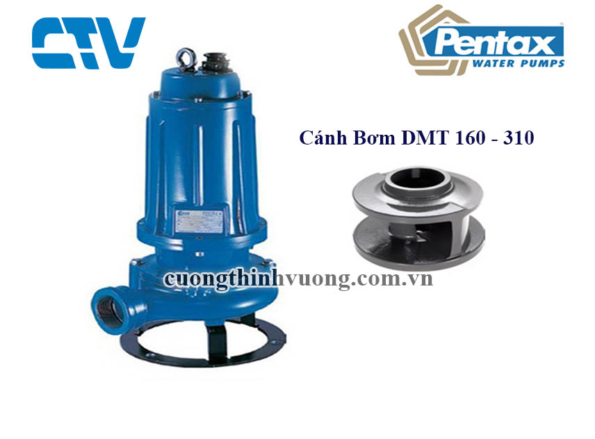 Cánh máy bơm chìm nước thải Pentax DMT 210 (1.5KW)