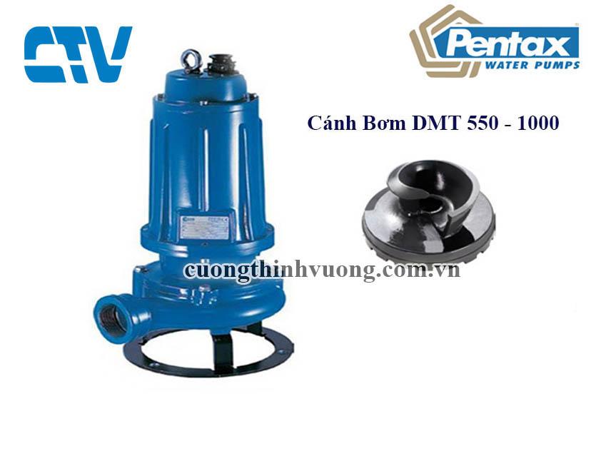 Cánh máy bơm chìm nước thải Pentax DMT 1000 (7.5 kw)