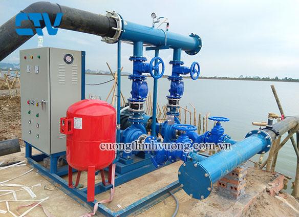 Lắp đặt hệ thống máy bơm tăng áp STAC cho các công trình dự án trên Toàn Quốc