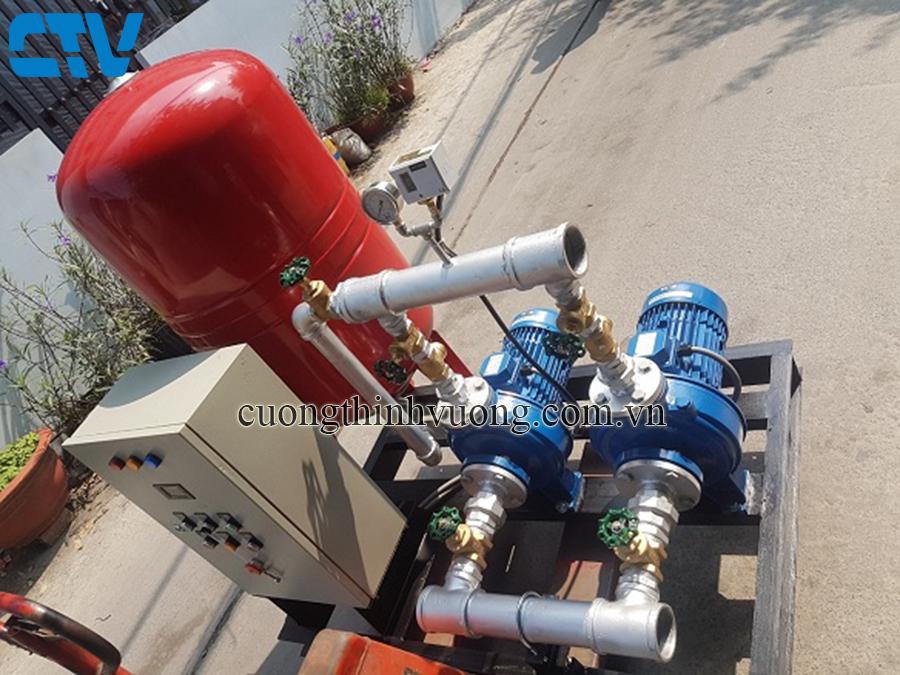 Cường Thịnh Vương thiết kế, lắp đặt tủ điện cho hệ máy bơm tăng áp tại Hà Nội